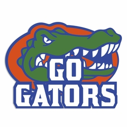 Go Gators: Go Gators Laser Die Cut