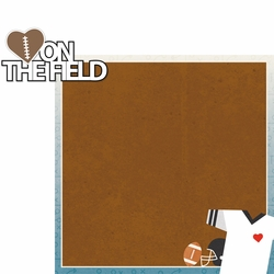 Go Team: Heart On The Field 2 Piece Laser Die Cut Kit