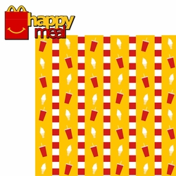 Golden Arches: Happy Meal 2 Piece Laser Die Cut Kit