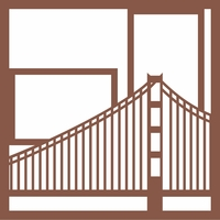 Golden Gate 12 x 12 Overlay Laser Die Cut