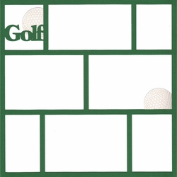 Golf Scrapbooking!
