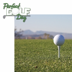 Golfing: Perfect Golf Day 2 Piece Laser Die Cut Kit