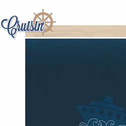 Gone Cruisin': Cruisin' 2 Piece Laser Die Cut Kit