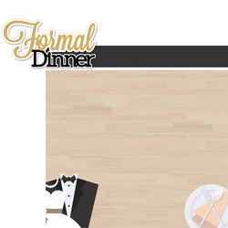 Gone Cruisin': Formal Dinner 2 Piece Laser Die Cut Kit