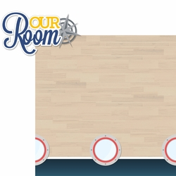 Gone Cruisin': Our Room 2 Piece Laser Die Cut Kit