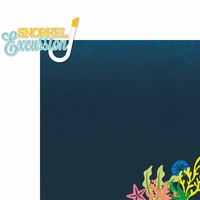 Gone Cruisin': Snorkel Excursion 2 Piece Laser Die Cut Kit