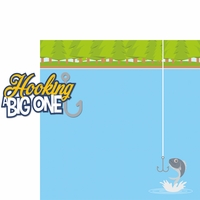 Gone Fishing: Hooking A Big One 2 Piece Laser Die Cut Kit