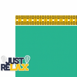 Gone Lax'n: Just ReLAX 2 Piece Laser Die Cut Kit