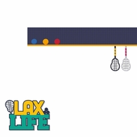 Gone Lax'n: Lax Life 2 Piece Laser Die Cut Kit