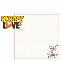 Good Dog: Puppy Love 2 Piece Laser Die Cut Kit