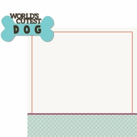 Good Dog: World's Cutest Dog 2 Piece Laser Die Cut Kit