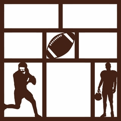 Got Game?: Football 12 x 12 Overlay