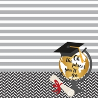 Graduation Day: The Graduate 12 x 12 Paper