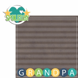 Grandma Grandpa: Spoiled By Grandpa  2 Piece Laser Die Cut Kit