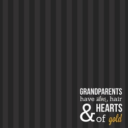 Grandparents: Best Grandparents 12 x 12 Paper