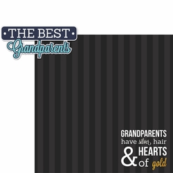 Grandparents: Best Grandparents 2 Piece Laser Die Cut Kit