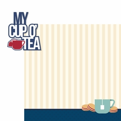 Great Britain: Cup O' Tea 2 Piece Laser Die Cut Kit