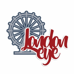 Great Britain: London Eye Laser Die Cut