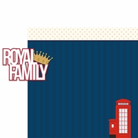 Great Britain: Royal Family 2 Piece Laser Die Cut Kit