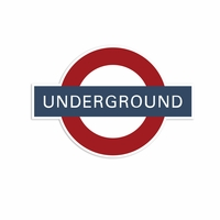 Great Britain: Underground Laser Die Cut
