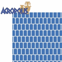 Greece: Acropolis 2 Piece Laser Die Cut Kit