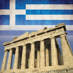 Greece: Parthenon 12 x 12 Paper