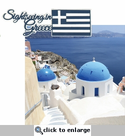 Greece: Sightseeing in Greece 2 Piece Laser Die Cut Kit