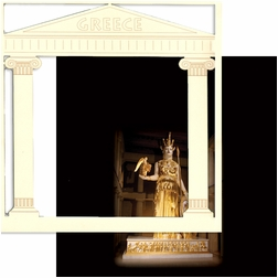 Greece: The Parthenon 12 x 12 Overlay Quick Page