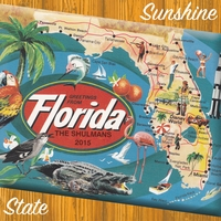 Greetings from Florida Custom 12 x 12 Paper