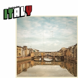 Greetings From: Italy 2 Piece Laser Die Cut Kit