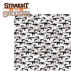 Guns: Straight Shooter 2 Piece Laser Die Cut Kit