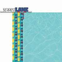 H20: My Lane 2 Piece Laser Die Cut Kit