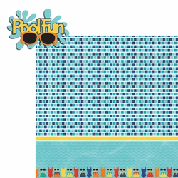 H20: Pool Fun 2 Piece Laser Die Cut Kit
