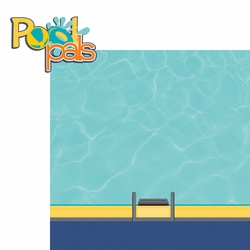 2SYT H20: Pool Pals 2 Piece Laser Die Cut Kit