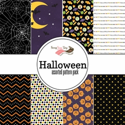 Halloween Assorted 12 x 12 Paper Pack