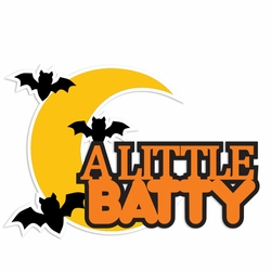 Halloween: Little Batty Laser Die Cut