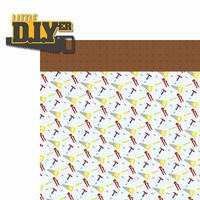 Handyman: Little DIYer 2 Piece Laser Die Cut Kit