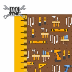 Handyman: Tool Time 2 Piece Laser Die Cut Kit