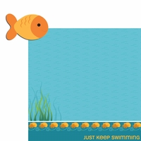 Happy Beach: Fish 2 Piece Laser Die Cut Kit