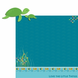 Happy Beach: Turtle 2 Piece Laser Die Cut Kit