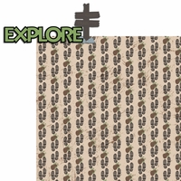 Happy Camper: Explore 2 Piece Laser Die Cut Kit