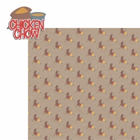 Happy Chickens: Chicken Chow 2 Piece Laser Die Cut Kit