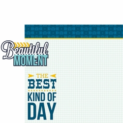 2SYT Happy Moments: Beautiful Moment 2 Piece Laser Die Cut Kit
