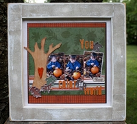 Harvest by Creative Imaginations layout # 2-<font color=red><b>NOT FOR SALE</b></font>