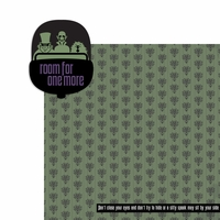Haunted Mansion: Room for 1 more 2 Piece Laser Die Cut Kit