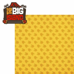 Hawaii: The Big Island 2 Piece Laser Die Cut Kit