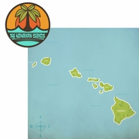 Hawaii: The Hawaiian Islands 2 Piece Laser Die Cut Kit