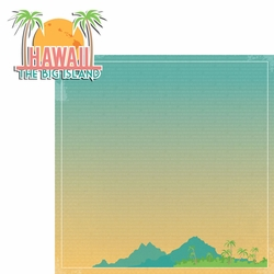 Hawaii Travels: HI Big Island 2 Piece Laser Die Cut Kit