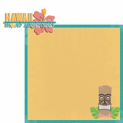 Hawaii Travels: HI Island Adventure 2 Piece Laser Die Cut Kit