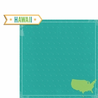 Hawaii Travels: HI Label 2 Piece Laser Die Cut Kit